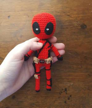 DIY PDF Patrón Amigurumi Sencillo Crochet Ganchillo DEADPOOL ...   350x298