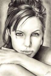 Angelina Jolie. by Ryuutsu