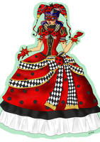 Ladybug - Venice Carnival by KiroAlbarn
