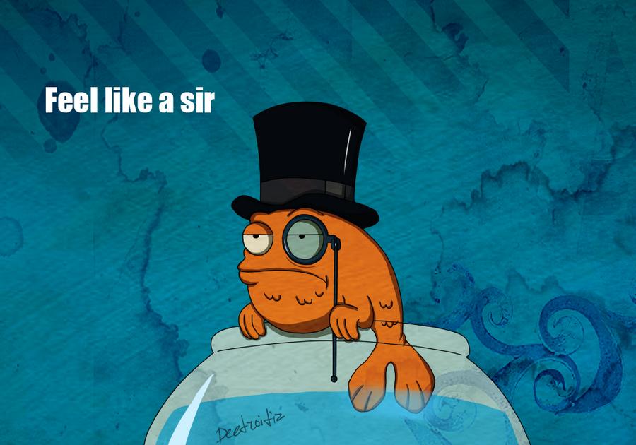 Feel like a sir by Deetroitiz