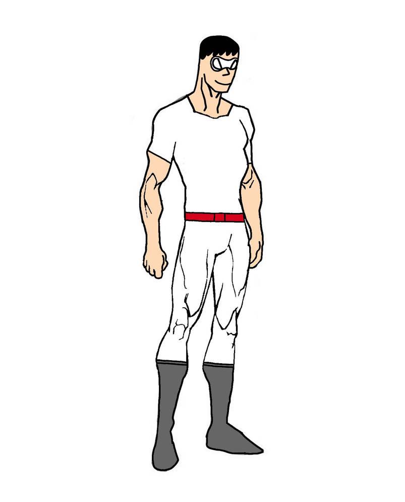 Superhero OC: Paper Man (inspired by Plastic Man) by Striker-Rider