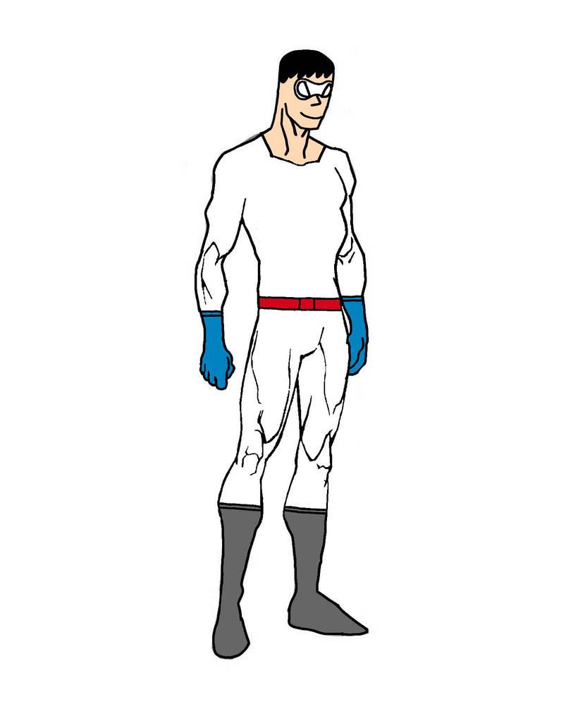 Paper Man (Alternate Costume) by Striker-Rider