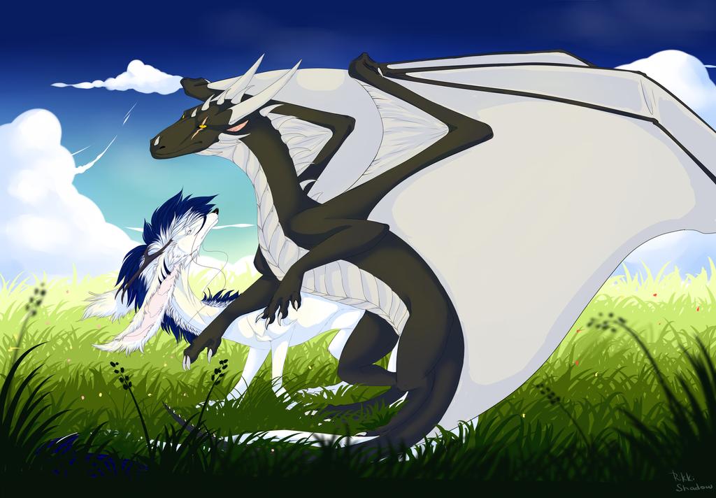 Rikki and friend by ShikkiShadow