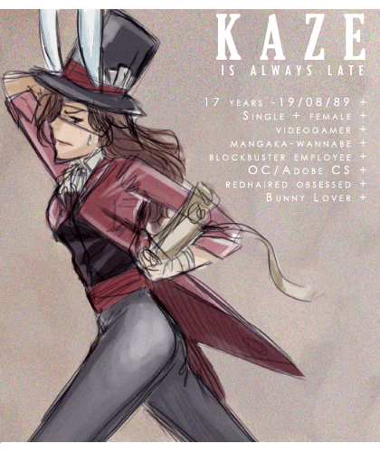 Always Late by x-Kaze-x