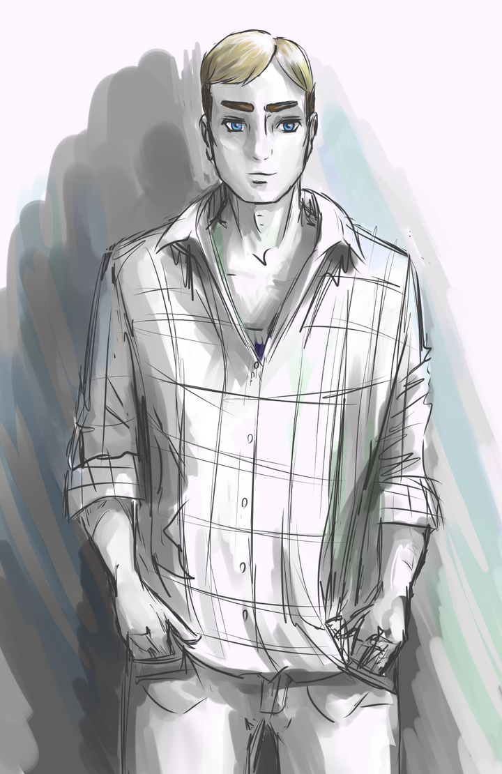 Erwin Smith in my clothes by Vicipedia