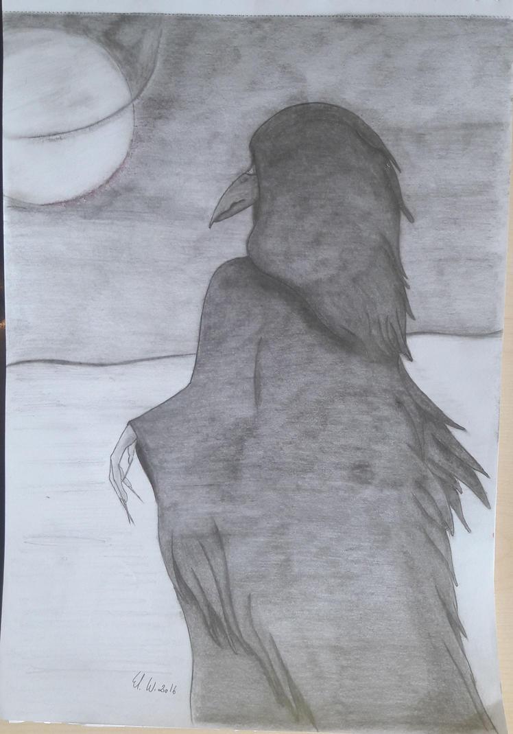Raven by Nathanael-Nadezda