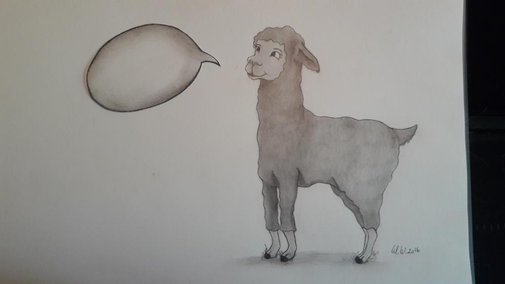 Lama? LAMA! by Nathanael-Nadezda