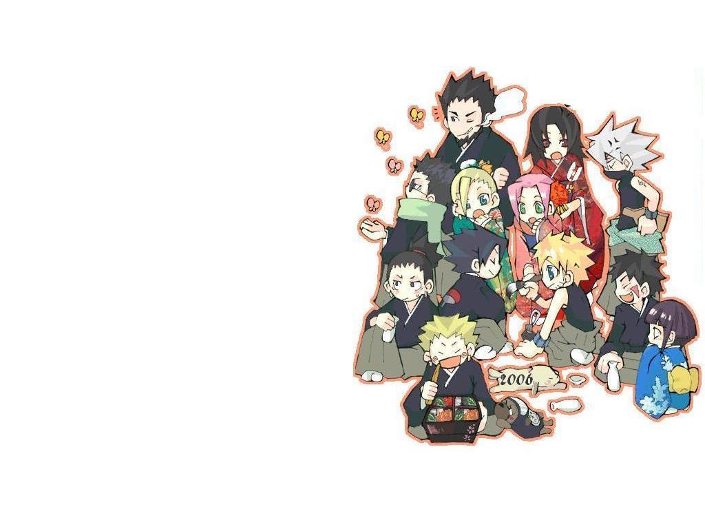 Chibi Naruto Characters By Hagaren Fullmetal