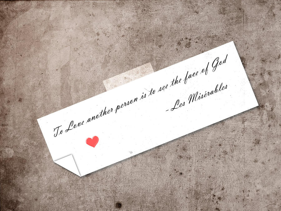 Les Miserables Quote By Darkheart0223 On Deviantart