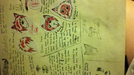 Neko Studies by thenarutotwilightfan