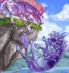 Altalune's fall by Buzzbees
