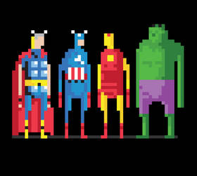 8-Bits Assembled by welovefine