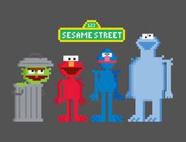 Sesame Bits by welovefine