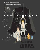 Star Wars: A New Pixel by welovefine