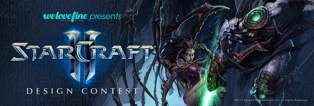 StarCraft II Design Contest by welovefine