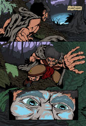 Mongrel in the Swamp, page 2 by Gorgonaut