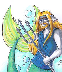 Merman: Markers by Sirothello