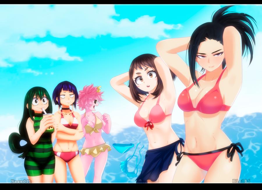 BNHA On the Beach by kisi86