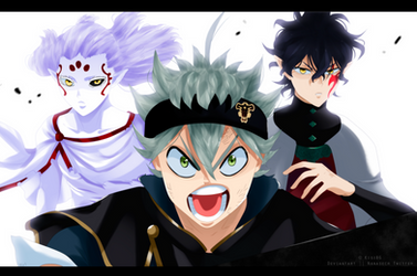 Black Clover [Chapter 203] Asta, Yuno and Patolli