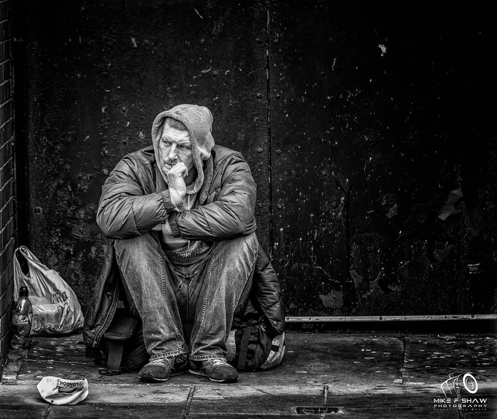 Homeless Not Hopeless XXI by MikeFShaw