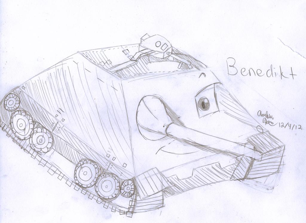 Benedikt the Jagdpanzer 38(t) Hetzer by crumplezonegirl06
