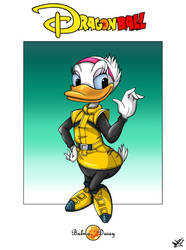 Daisy as Bulma
