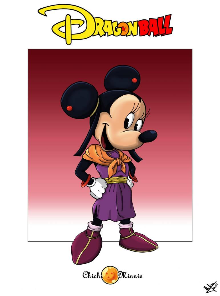 Minnie as Chichi by Djleemon
