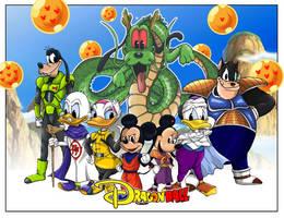 Disneyball Z fresque V2