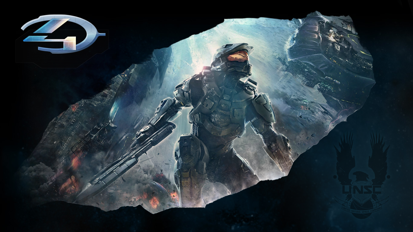 Halo 4 Master Chief Customed Wallpaper By Pikachumazzinga On