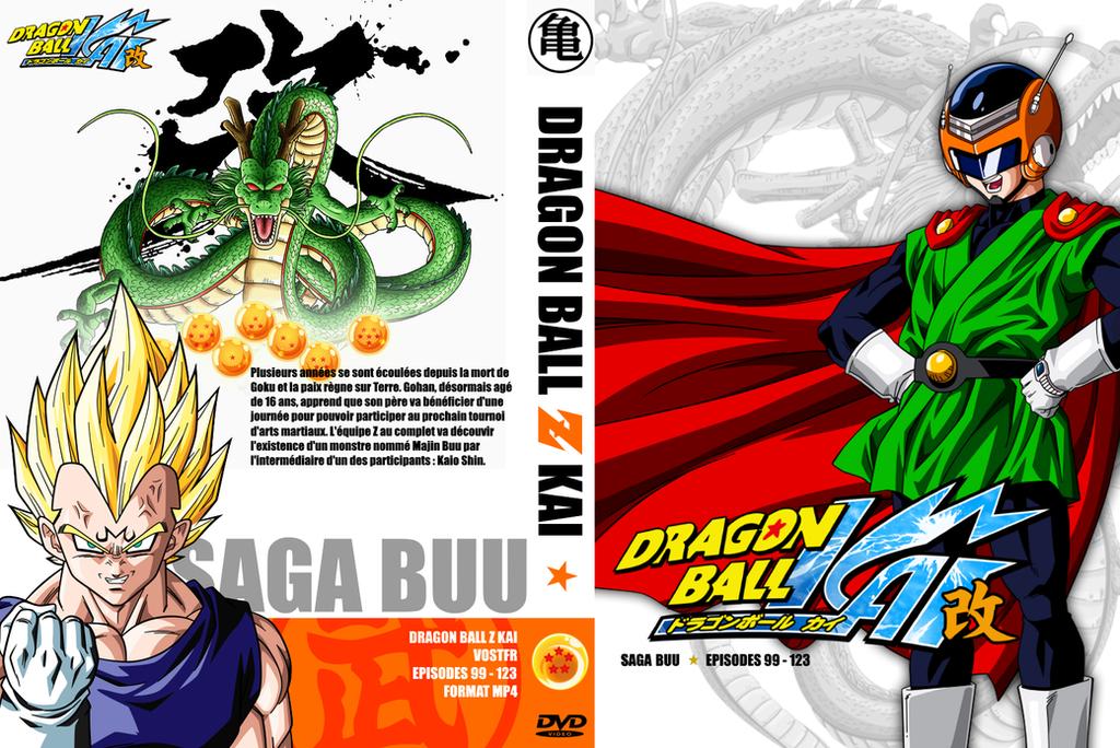 new dragon ball z kai cover 5 saga buu 1 by vicoh57 on