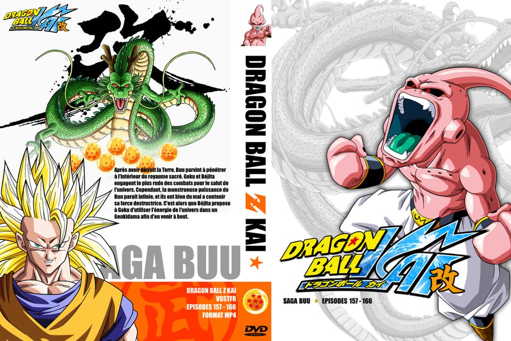 new dragon ball z kai cover 7 saga buu 3 by vicoh57 on
