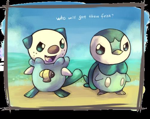 Piplup Vs Oshawott | •Pokémon• En Español Amino |Pokemon Piplup And Oshawott