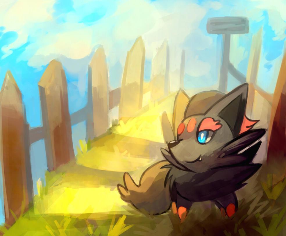 in sun by windy-lie