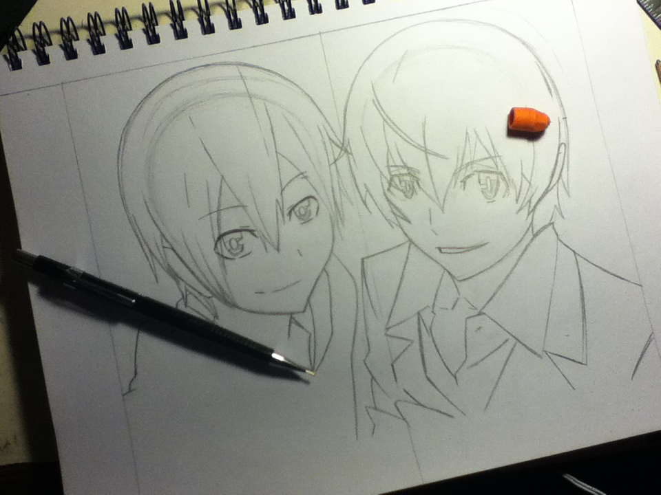 I Bet They're Related WIP by DemonFox1295