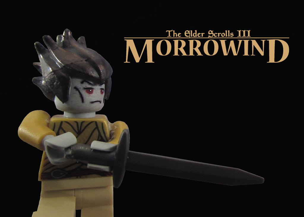 LEGO The Elder Scrolls III Morrowind (Wallpaper) by ChefUgluk