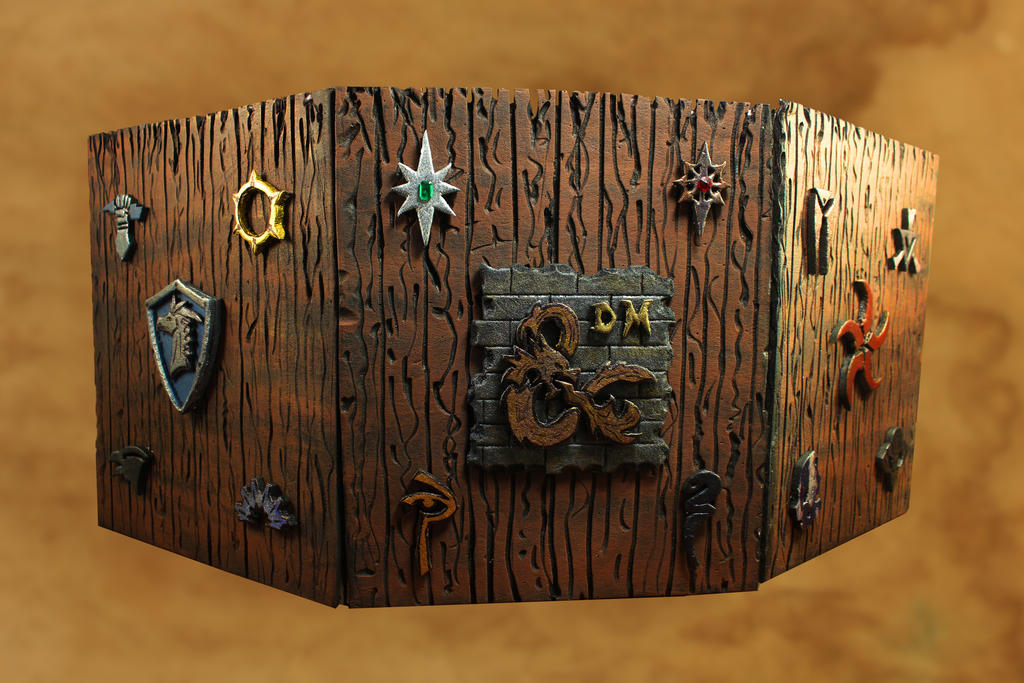 Dungeons And Dragons Dm Screen By Chefugluk On Deviantart