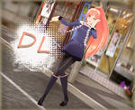 MMD Model: -CASUAL SF-A2 MIKI-DL-
