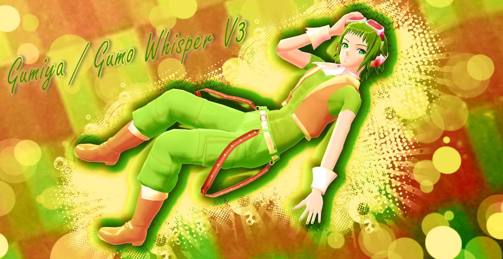 MMD-Gumiya or Gumo Whisper V3- by Hikary1
