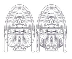 Starship Design v3 of USS Metropolis - Underside by StandingLeaf
