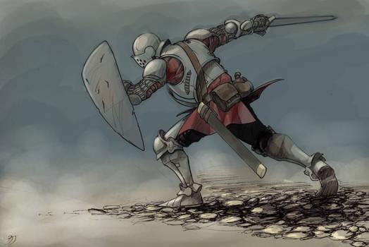 Knight colored