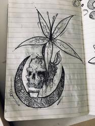 Sketchbook ink by Dil-Relevart