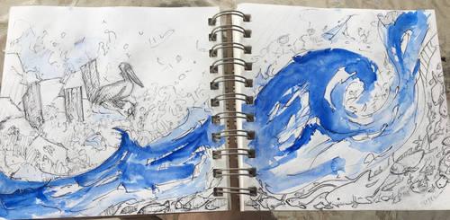 Coast ink by Dil-Relevart