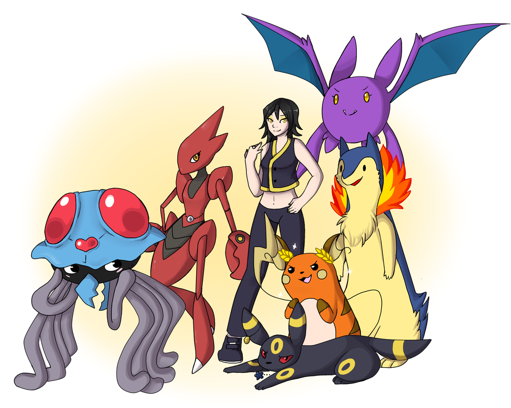 Pokemon Trainer Oc Silvia By Quarbie On Deviantart