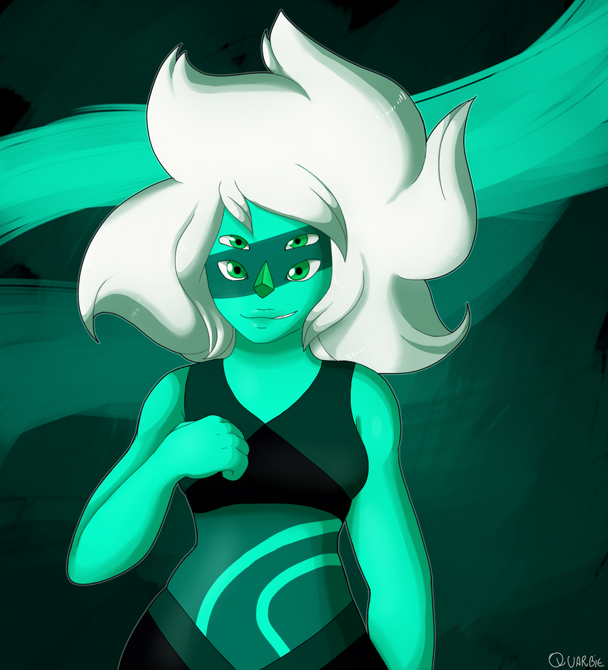 OOMG I'm really excited to her return! I kinda like a lot her design. AND IT'S JUST THAT, REALLY. Malachite (c) Steven Universe (c) Rebecca Sugar