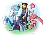Pokemon OC- Alola Quarbie