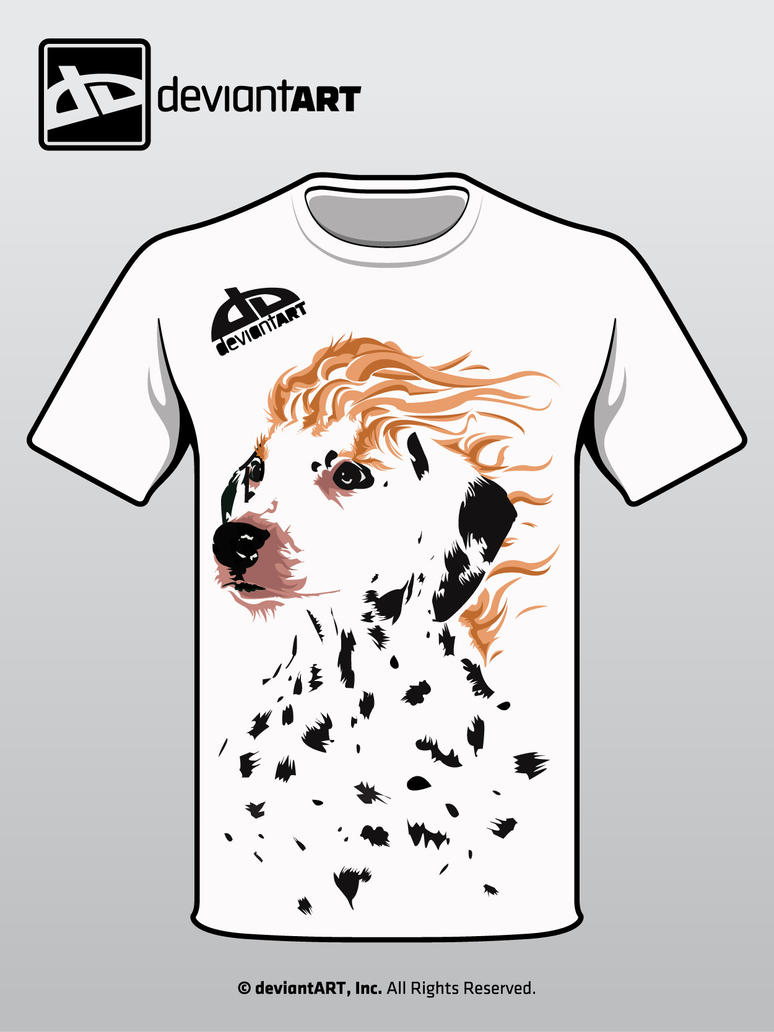 See spot run: t shirt contest by frillion