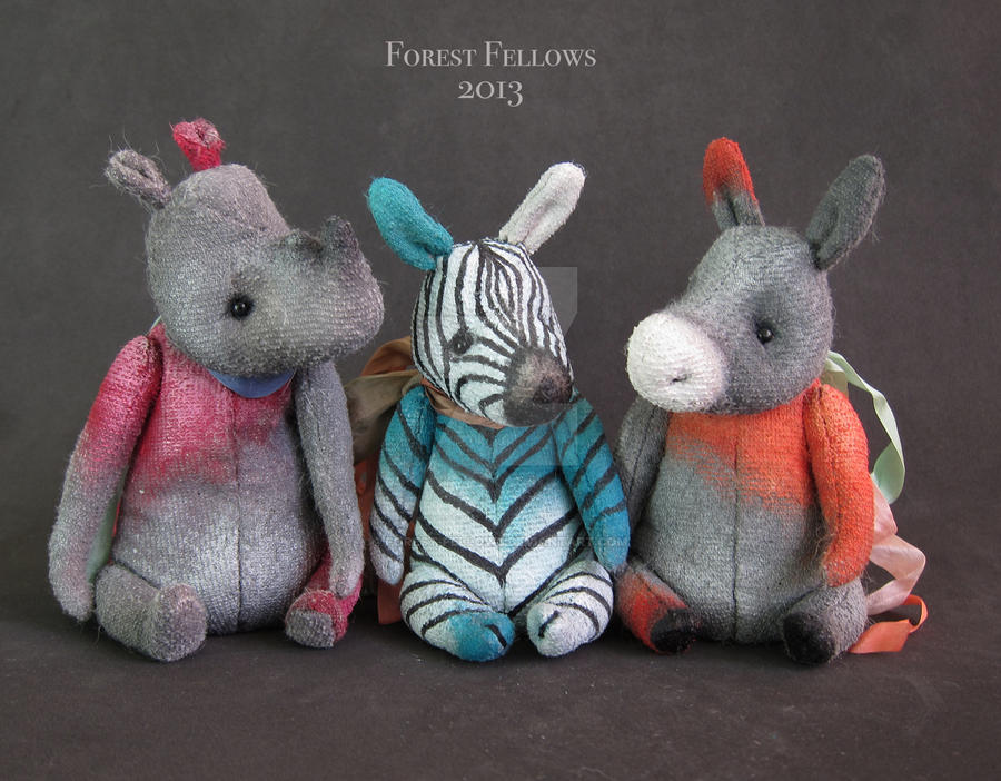 Toys 4 Life (mini collection) by Forest-Fellows