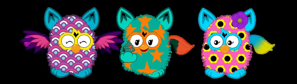 The Rare/Legendary Furbies by mlpprincessalpha