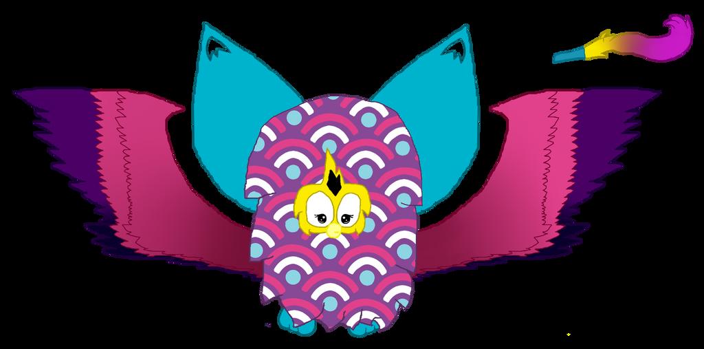 Mika the Purple Waves Furby by mlpprincessalpha
