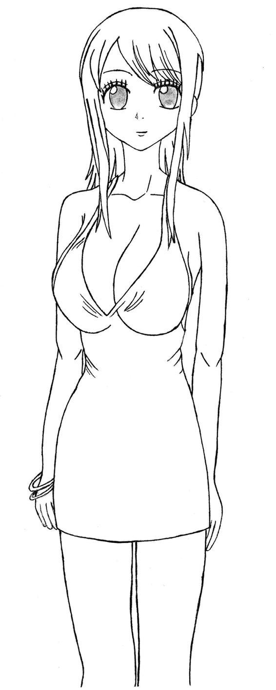 Lucy Heartfilia in a sexy dress by desmondlogan